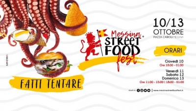 Messina Street Food Fest, show cooking da Star